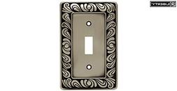 Brainerd 64048 Single Switch Paisley Collection, Brushed Sat