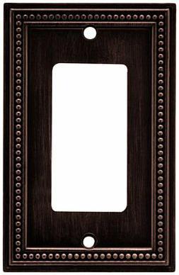 Brainerd Beaded Single Decorator Wall Plate