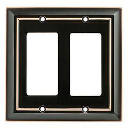 Brainerd W10536-OB Bronze & Copper Architect Double GFCI Dec