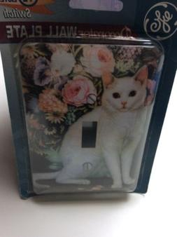 BRAND NEW GE Decorator White Cat Design Home Wall Light Swit