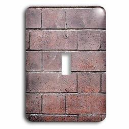 3dRose Bricks Wall with An Regular As a Background Socket Pl