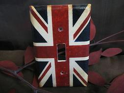 British Flag Light Switch Wall Plate Cover #1 - Variations A
