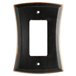 bronze decorator wall plate allen roth w20821