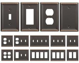 Bronze Wall Switch Plate Toggle Outlet Cover Rocker Duplex W