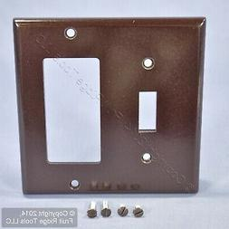 Leviton Brown Decora GFCI Switch Cover Receptacle Wall Plate