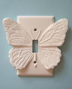 BUTTERFLY light switch plate wall cover toggle switchplate o