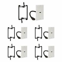 Buyer's Point HDMI Wall Plate  with 6-Inch Pigtail