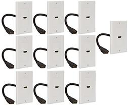 buyer s point hdmi wall plate ul