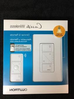 LUTRON PICO REMOTE CONTROL PJ2-WALL-WH-L01C CASETA WIRELESS WALL MOUNTING DIMMER