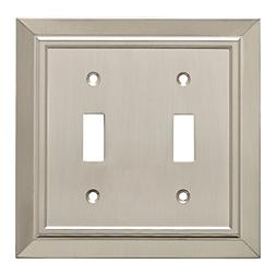 Classic Architecture Double Toggle Switch Wall Plate/Switch