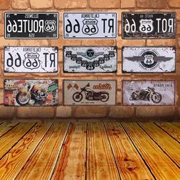Club <font><b>Wall</b></font> Garage USA Vintage Metal Paint