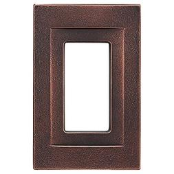 Somerset Collection Contemporary 1-Gang Oil-Rubbed Bronze Wa