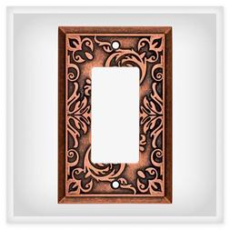 Copper Decorator Wall Plate Fairhope Brainerd W27108-CPS