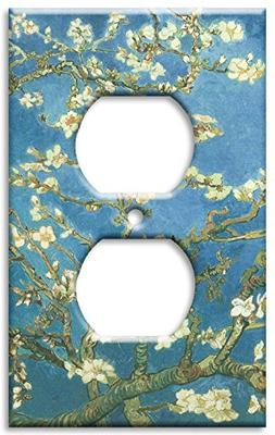 Outlet Cover Wall Plate - Van Gogh: Almond Blossoms