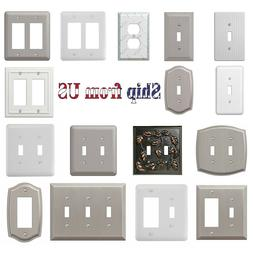 wall switch plate decorative outlet cover toggle