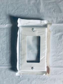 Leviton decora 1- gang wall plate, white