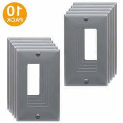 Decorator Light Switch Receptacle Outlet Wall Plate 1 Gang G