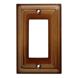 Decorator Wall Plate Architectural Saddle Brainerd W10768-SD