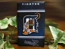 detroit tigers light switch wall plate cover
