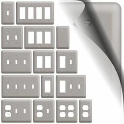 Devon Switch Plate Brushed Nickel Wallplate Outlet Cover Tog