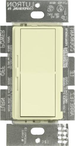 Lutron Dimmer Switch, 1000W 1Pole Incandescent Diva Light Di