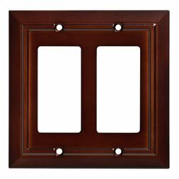 Double Decorator Wall Plate Architectural Franklin Brass W35