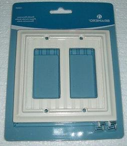 Brainerd Double Decorator Wall Plate Light Almond