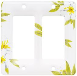 Double Decorator Wall Plate Magnolia Brainerd 64528