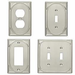 double switch single switch plate outlet cover