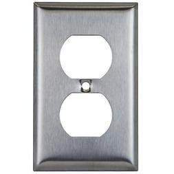 Enerlites Duplex Receptacle Outlet Wall Plate, Standard Size