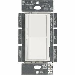 Lutron DVLV-600P-WH 600-Watt Diva Magnetic Low-Voltage Singl