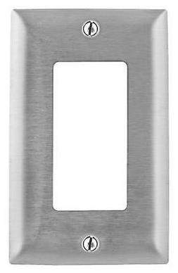 Electric Opening Metallic Home Wall Plate Stainless Steel Wi