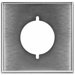 ENERLITES Electrical Dryer Receptacle Steel Wall Plate 1 Gan