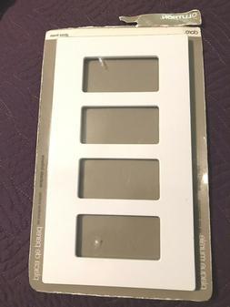 Lutron Electrical Wall Plate, Claro Decorator Screwless, 1Ga