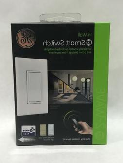 GE   EZ Smart Light Switch, On/Off Control, In-Wall,  Z WAVE