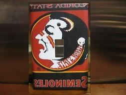 Florida State Seminoles Light Switch Wall Plate Cover #2 - V