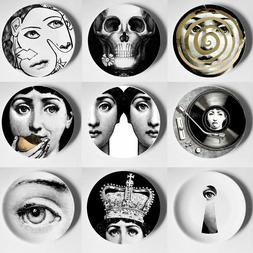 Fornasetti Porcelain Decorative Wall Plates Home Accessories