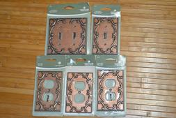 Brainerd French Lace Decorator Wall Light Switch Outlet Plat