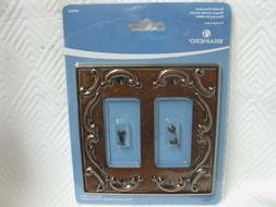 Brainerd French Lace Double Decorator Wall Plate 405504 Spon
