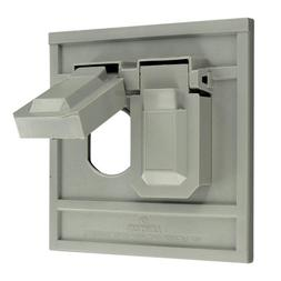 Gray Outdor Outlet Cover 0004986GY