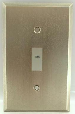 Gun Metal Light Switch Plate Toggle Wall Cover Plate Amerell