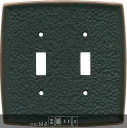 Brainerd Hammered Oil Rubbed Bronze    Wall Plates & Outlet