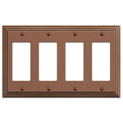 Hampton Bay Wall Plate Cover Switch Electrical 4 Decora Acce