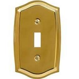 6/Pack American Tack & Hdwe Co 76Tbr Toggle Plate P.Brass