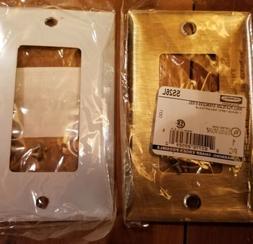 Hubbel Electric SS26L Metallic Wallplate, 1-Gang, 1 GFCI rec
