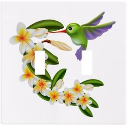 Hummingbird Flowers Wallplate Wall Plate Decorative Light Sw