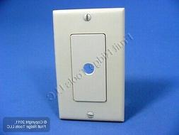 New Leviton Ivory Decora Rotary Dimmer Switch Plastic Cover