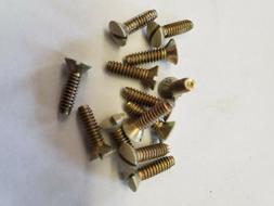 Ivory Wall Plate Screws.  Metal Screws. Leviton Or Eagle