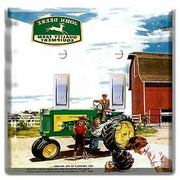 John Deere  Light Switch wall plate covers Outlet man cave r