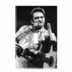Johnny Cash Finger Light Switch Plate Wall Cover Country Mus